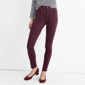 Madewell skinny skinny high rise jeans